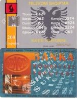 TARJETA TELEFONICA DE ALBANIA. 04.96 - TIRADA 23400  (055) - Albania