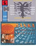TARJETA TELEFONICA DE ALBANIA. 07.96 - TIRADA 20000  (056) - Albania