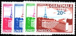 Guatemala 1960 UNESCO Paris Eiffel Tower Unmounted Mint. - Guatemala