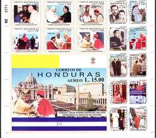 Honduras 2001 Cardinal Oscar Andreas Rodriguez Sheetlet Unmounted Mint. - Honduras