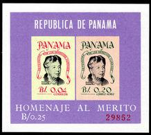 Panama 1964 Mrs Roosevelt Souvenir Sheet Unmounted Mint. - Panama