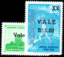 Panama 1962 Provisionals Unmounted Mint. - Panama