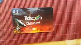Phonecard  Satelite New Zealand Number 3NZLB (Mint,Neuve) Rare - New Zealand