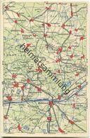 Wona-Landkarten-Ansichtskarte 44-51 - Ruhland - Verlag Wona Königswartha - Ruhland