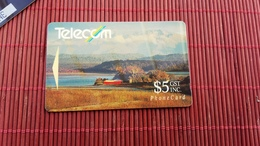Phonecard  Satelite New Zealand Number 7NZDB (Mint,Neuve) Rare - New Zealand