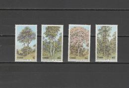 Ciskei 1983 Michel 34-37 Trees Set Of 4 MNH - Ciskei