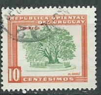 Uruguay - Yvert N°  630 Oblitéré   - Pa 11209 - Uruguay