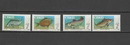 Ciskei 1985 Michel 70-73 Fish Set Of 4 MNH - Ciskei