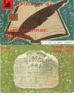 TARJETA TELEFONICA DE ALBANIA. 05.00 (060) - Albania