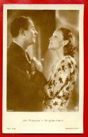 MOVIE STARS JAN KIEPURA BRIGITTE HELM # 5449/1 VINTAGE PHOTO POSTCARD 3636 - Schauspieler