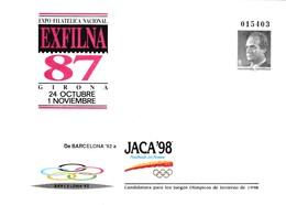 España Sobre Entero Postal Nº 10A - 1931-....