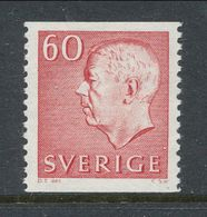 Sweden 1964 Facit # 434,  Gustaf VI Adolf, Type III, MNH(**) - Nuovi