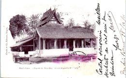 ASIE - LAOS --  Pagode De Wat May - Laos