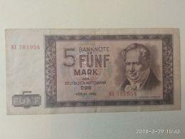 5 Mark 1964 - [ 6] 1949-1990 : RDA - Rép. Dém. Allemande
