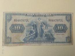 10 Mark 1949 - [ 7] 1949-… : RFA - Rep. Fed. Tedesca