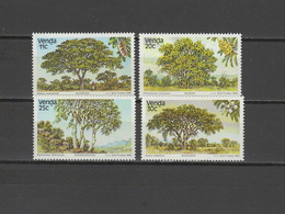 Venda 1984 Michel 95-98 Trees Set Of 4 MNH - Venda