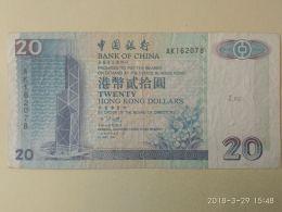 20 Dollars 1994 - Hong Kong