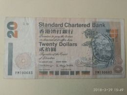 20 Dollars 2000 - Hong Kong