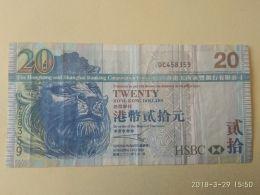 20 Dollars 2003 - Hong Kong