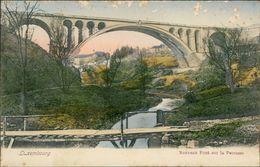 AK Luxembourg, Nouveau Pont Sur La Pétrusse, O 1905, Massive Papierabschürfungen Oben (29983) - Luxembourg - Ville