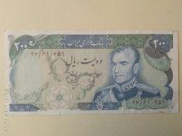 200 Rial 1976 - Iran
