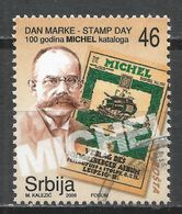 Serbie 2009. Scott #487 (U) Stamp Day, Michel Stamp Catalogs Cent. * - Serbie