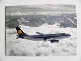 Post Card Carte Plane Avion Airplane Lufthansa Airbus A 300 - 1946-....: Moderne