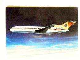 Post Card Carte Plane Avion Airplane Boeing-jet 727-200 Hapag-lloyd - 1946-....: Moderne