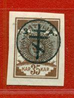 LATVIA LETTLAND RUSSIA OCCUPATION 35 KOPEKS 1919 SC. 2N17 217 - Lettland