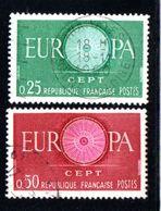 N° 1266 / 1267 - 1960 - Used Stamps