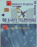 TARJETA TELEFONICA DE ALBANIA. 05.98 (064) - Albania