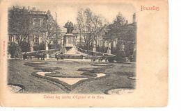 Bruxelles - CPA - Brussel - Statues Des Comtes D'Egmont Et De Horn - Laeken