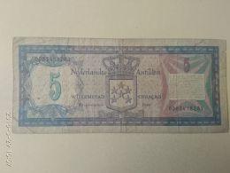 5 Gulden 1980 Curacao - Antille Olandesi (...-1986)