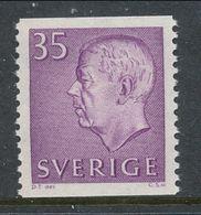 Sweden 1961 Facit # 424, Gustaf VI Adolf, Type III, See Description, MNH (**) - Nuovi