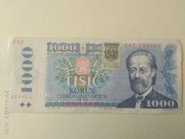 1000 Korun 1985 Ex Cecoslovacchia - Slovacchia