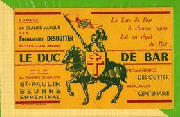 BUVARD & Blotting Paper :  Le Beurre St Paulin Fromagerie DESOUTTER - Produits Laitiers