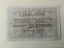 20 Vinarjev  1919 Ljubiana - Slovenia