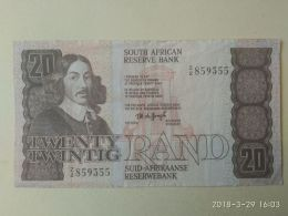 20 Rand 1984-93 - Sudafrica