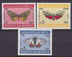 AFGHANISTAN Mi. Nr. 1096-1098 ** (A-5-45) - Afghanistan