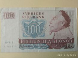100 Koron 1978 - Suède