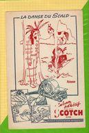 BUVARD & Blotting Paper :  La Danse Du Scalp Ruban Adhesif  Indien - Stationeries (flat Articles)