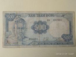 500 Dong 1966 - Vietnam