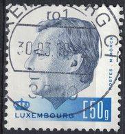 Luxembourg 2015 Oblitéré Used 60 Ans Du Grand Duc Henri Europe 50 Gr - Usados