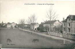 23  EVAUX Les BAINS  - Avenue  De La REPUBLIQUE - Evaux Les Bains