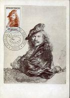 32456 France, Maximum  1957 Painting Of Rembrandt, Self Portrait - Rembrandt
