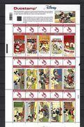 BELGIQUE - BELGIE Mijn Zegel Lot Van 15 Postzegels Duostamps Mickey Mouse  Volledig Vel - Belgique