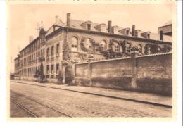 Kain (Tournai)-Collège N.D. De La Tombe-Façade-Rails Du Tram-Pas Courante-Timbre COB 420 De 1935-1937 - Tournai