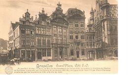 Bruxelles - CPA - Brussel - Grand'Place Côté S.O. - Places, Squares