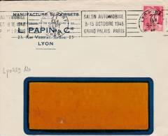 LYON - Flamme De 1946 - Postmark Collection (Covers)