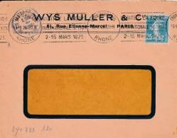 LYON - Flamme De 1925 - Postmark Collection (Covers)